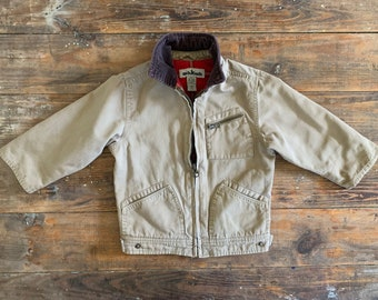 Jacket Required VTG Kids Corduroy Jacket with Painting Motif