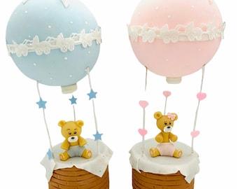 Hot Air Balloon and Teddy Bear.