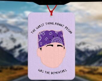Prison Mike Car Air Freshener - Michael Scott Air Freshener - The Office US TV Show - Michael Scott fan - Funny New Driver Gift