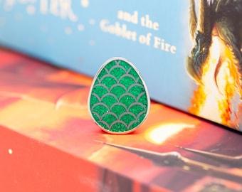 Green House Pride Dragon Egg Enamel Pin