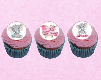 Circus Carnival Mini Edible Icing Cupcake Toppers PRE-CUT Sheet of 30