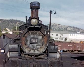 South Park Line Railway Sign Photo Keychain Pendant Denver Railroad Model RR