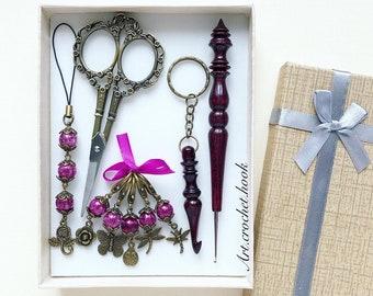 Crochet lover gift set