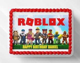 Roblox Cake Etsy