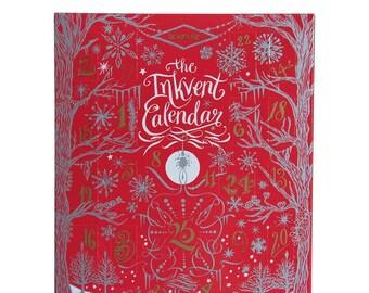 Ink Advent Calendar - Diamine Inkvent Calendar 2021 Red Edition