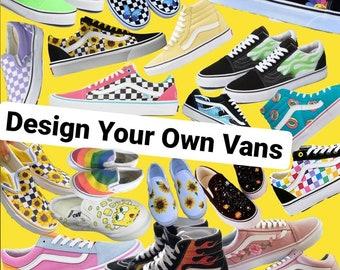 cool vans custom