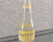 Vintage Soda Pop Bottle NUGRAPE 10 oz Yellow Label Doraville, GA 1971