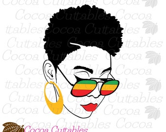 Black Women Svg Etsy