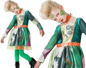 FRANKENSTEIN halloween fancy dress costume party present kids Boys Girls T SHIRT