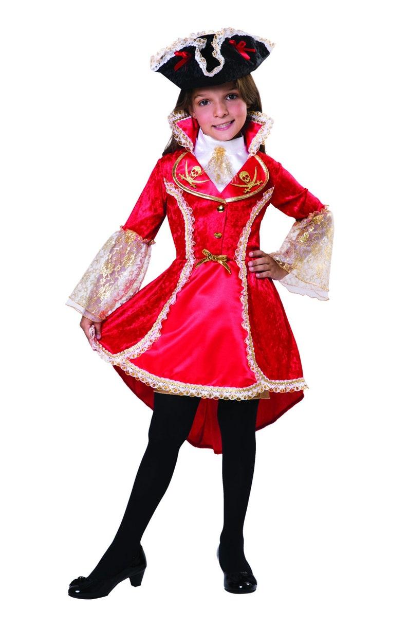 NEW Female Children Children/'s Small Pirate Princess Costume Pirates