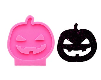 Halloween Skull Silicone Mould for DIY Keychain Ring Epoxy Resin Craft Mold