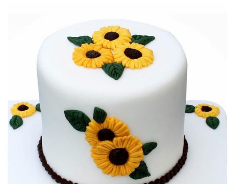 Sunflower cake Silicone Mold,sunflower silicone mould silicone mould Chocolate mold Cake Decoration Baking Mold,Custom Silicone Mold