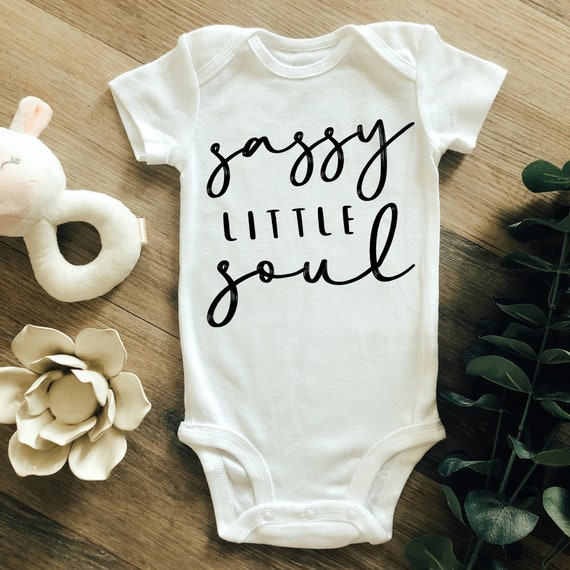 Boho Onesie, Gift for Niece New Baby Onesie Gift for Her Sassy Onesie Sassy Little Soul Onesie Gift for Daughter