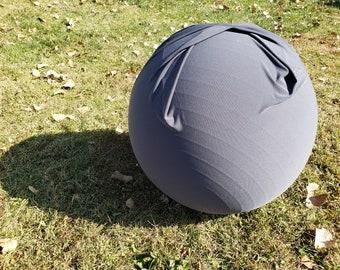 Ball Cover | Exercise | Yoga | Balance | Peanut | Labor | Birth | Handle | Peanut | Grey