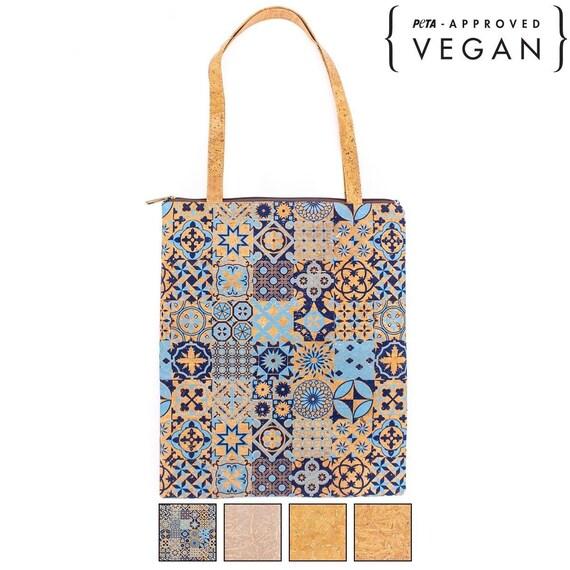 Vegan bag / Natural cork bag BAG-406-TUVX