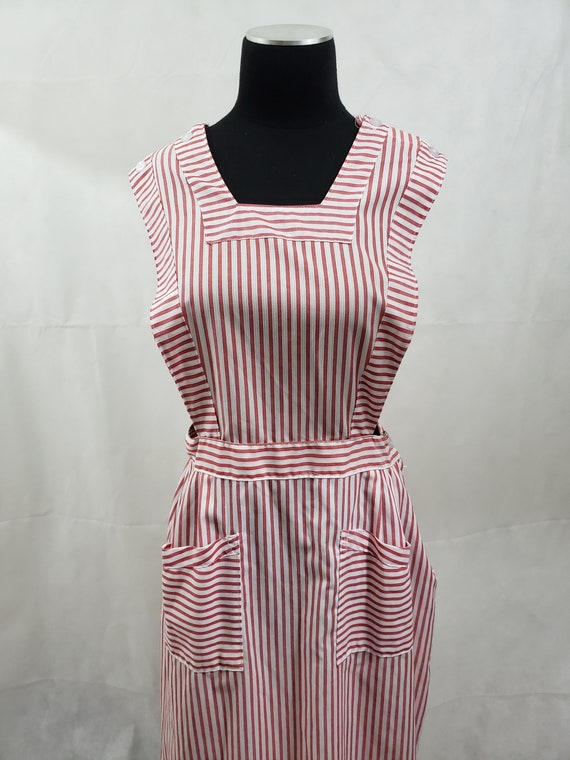 Candy Striper Vintage Apron Dress