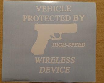 Personalised Name Sticker Label//Decal for Aluminium Gun//Pistol//Tool Case//Storage