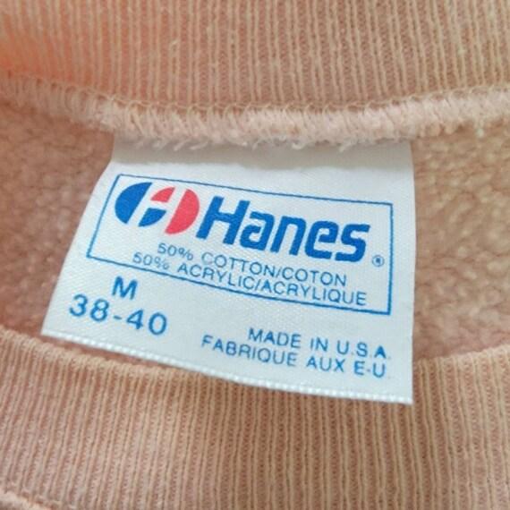 Vintage 90's Cottagecore Crochet Knit Sweatshirt - image 7