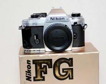 Nikon FG, 35mm SLR camera