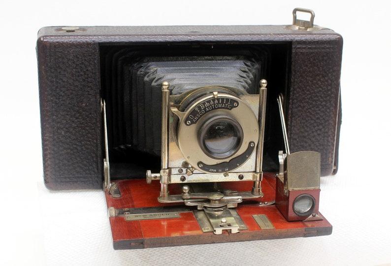 Ansco No. 10 Model B folding Camera Patent 1907 image 0