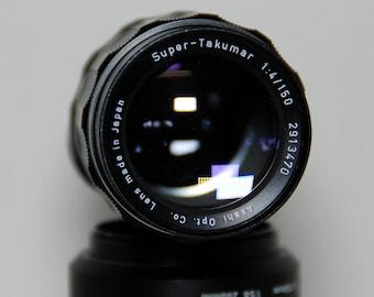 Pentax Super Takumar, M42 f4/150mm