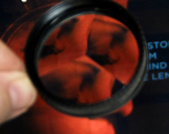 Quantaray 49mm Triangle Prism Lens Filter Special Effects