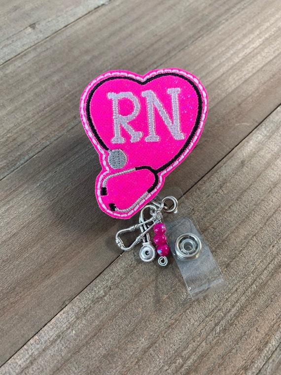 Nurse Badge Reel Nurse Gift Retractable Badge Reel Teacher Badge Reel Baby Alien Nursing Badge Reel Cute Badge Reel Felt Badge Reel