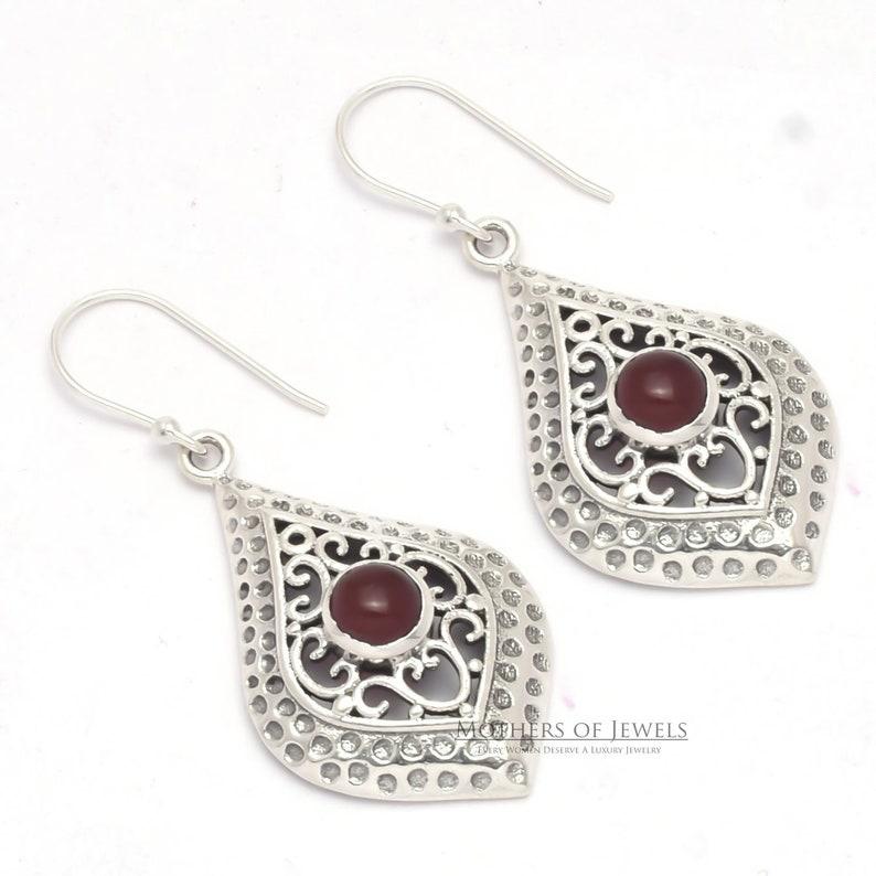 925 Sterling Silver Dangle Earrings Natural Labradorite Gemstone Boho Drop Earrings Earrings Sale Labradorite Earrings Handmade Earrings