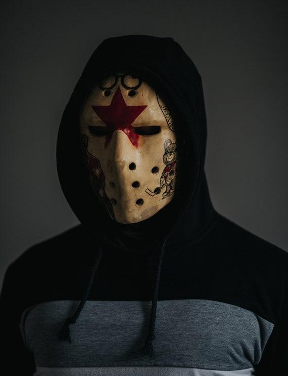 "Hockey mask ""Red army"""