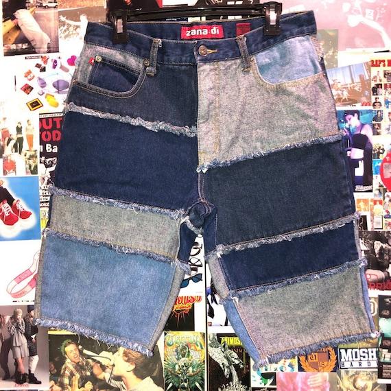 Y2K Zana Di Patchwork Jeans