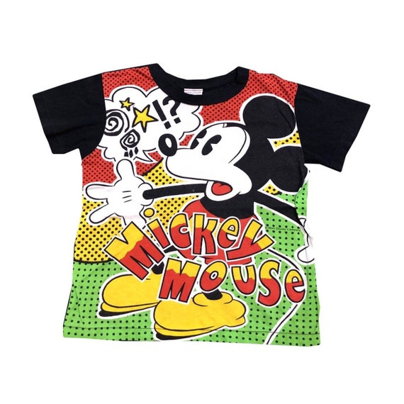 Vintage 80s Mickey Mouse Baby Tee