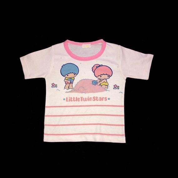 70s Little Twin Stars  Baby Tee !
