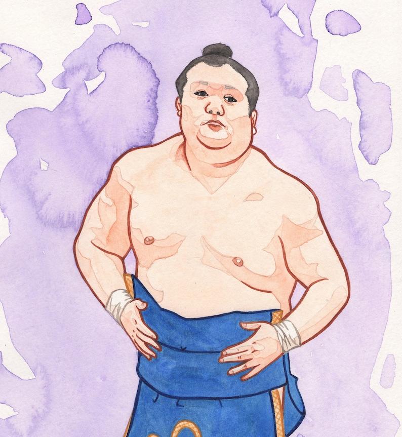 Takarafuji Kesho 5x7 Gilcee art print