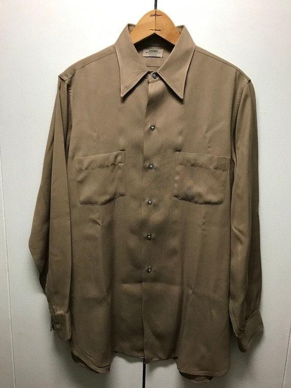 Vintage Arrow Doubler Rayon Shirt