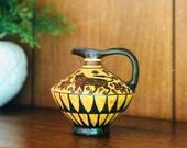 Vintage Ancient Greek Authentic Museum Reproduction Hydria, Ancient Amphora, Greek Pottery Terracotta, Grecian Jug with Handle