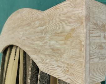 Bow Window cornice/Window Cornice Box/Cornice Window Treatments/Cornice board valance/Cornice board/Wood Cornice Board/