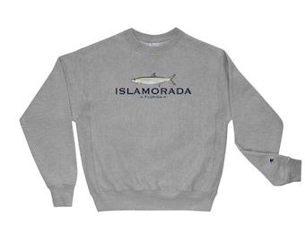 Islamorada Tarpon Sweatshirt | Islamorada Champion Sweatshirt | Florida Keys Crewneck Sweatshirt