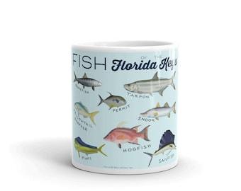 Fish of the Florida Keys Mug | Islamorada Fish Mug