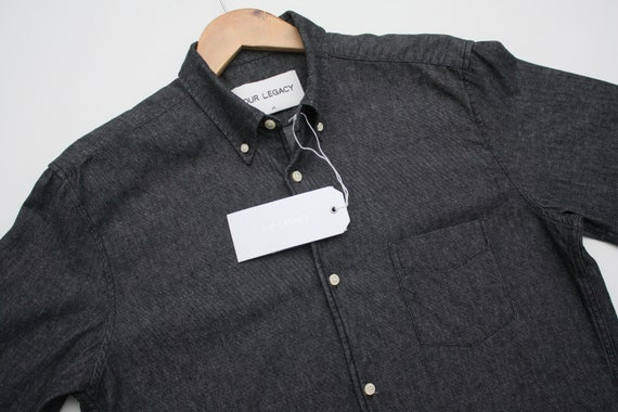 Our Legacy Black Denim Shirt