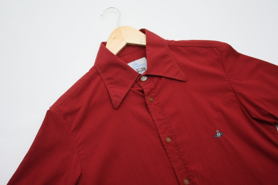 Authentic Vivienne Westwood Brick Red Short Sleeve