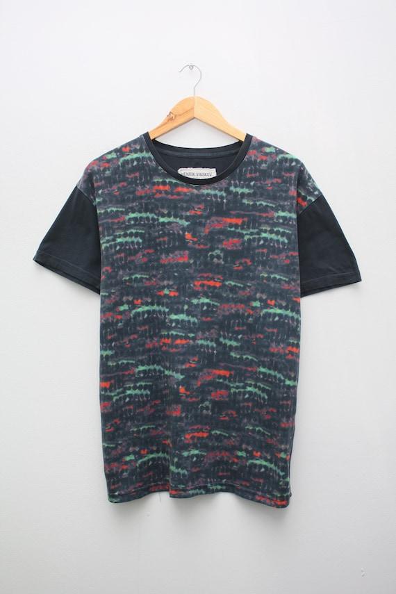 Henrik Vibskov Abstract Multicolor T-Shirt