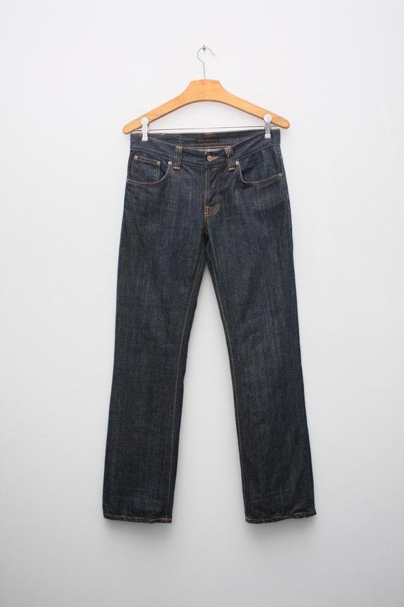 Nudie Jeans Dark Navy Rinsed Denim