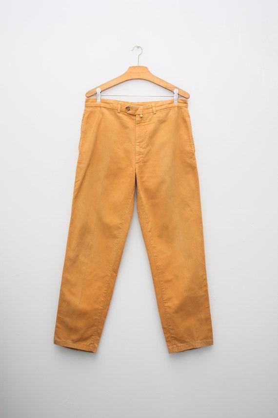 Loro Piana Yellow Mustard Comfort Pants
