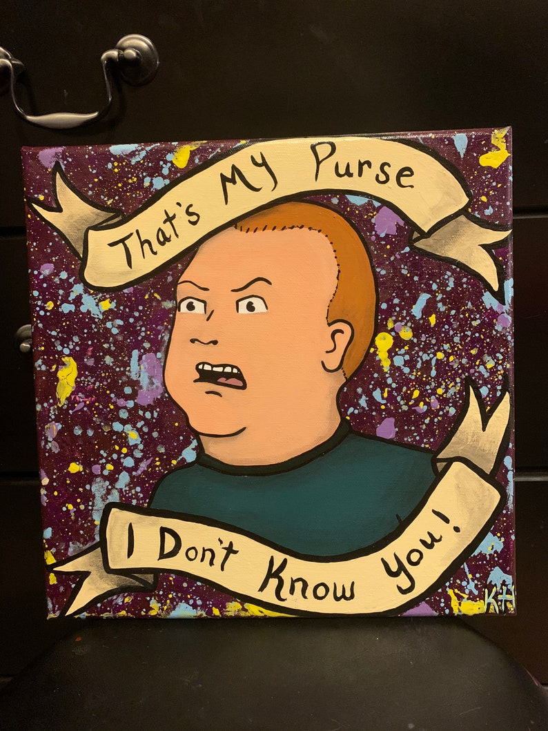 Bobby Hill King of the Hill canvas painting
