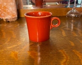 Vintage Fiestaware Coffee Mug Retro Ceramic Kitchenware