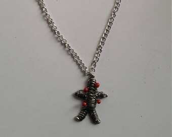 ROCK REBEL GUN/'S AND STAR  NECKLACE FROM HOT TOPIC