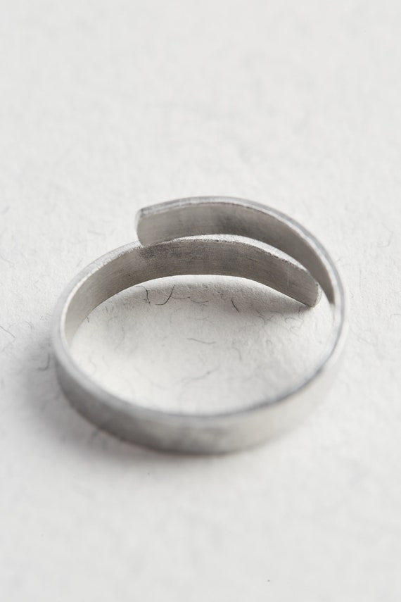 925 Sterling Silver Handmade Ring Happy Ring Adjustable Ring Woman Ring Gift for her Weight=11.7gm