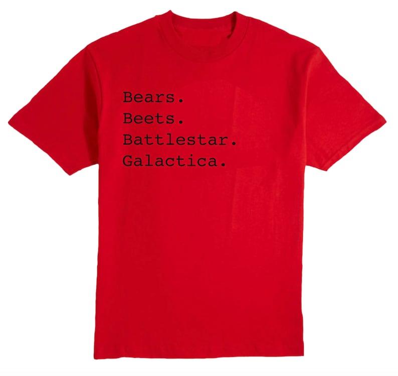 Dwight Schrute The Office T-Shirt Bears Beets Battlestar Galactica Gifts Dwight Schrute T-Shirt The Office Dwight Vintage T-Shirt