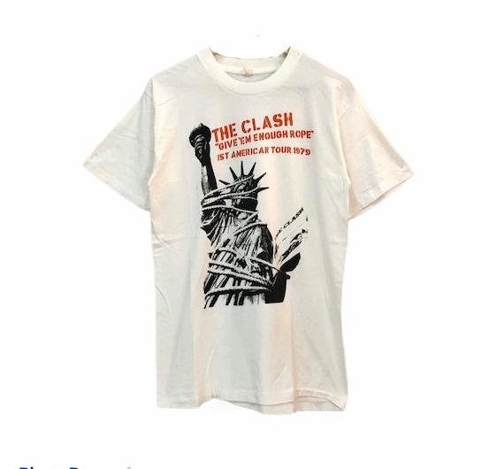 Vintage The Clash 1st American Tour 1979 T Shirt