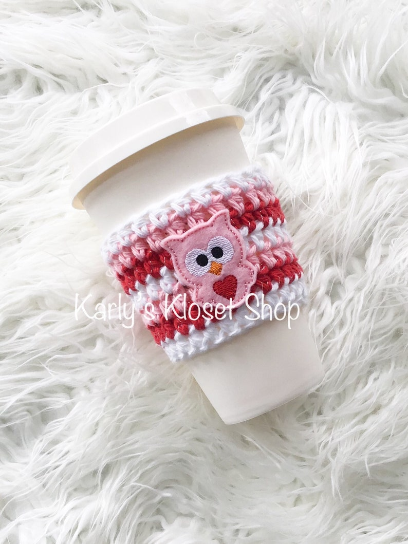 Coffee Cup Cozy Coffee Warmer Cup Cozies Coffee Cup Sleeve image 0
